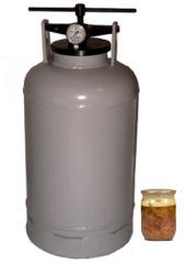 фото Автоклав (прибор для приготовления тушенки, 30 литров)