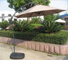 фото Садовый зонт A005 бежевый