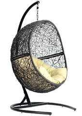 Фото №2 Кресло подвесное + каркас Lunar Black