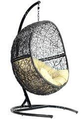 фото Кресло подвесное + каркас Lunar Black