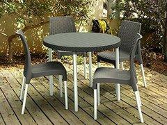 Фото №3 Комплект садовой мебели Jersey set