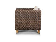 Фото №3 Кресло НОЛА из искусственного ротанга
