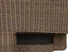 Фото №5 Роскошное кресло ГРАНДА из искусственного ротанга
