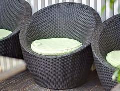 Фото №4 Кресло ТУЛЛОН из искусственного ротанга