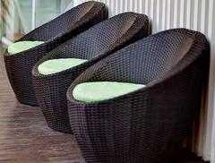 Фото №6 Кресло ТУЛЛОН из искусственного ротанга