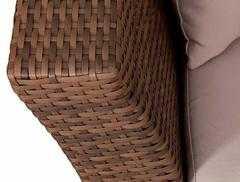 Фото №5 Кресло ФЕРРАРА из искусственного ротанга