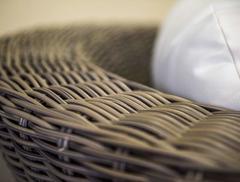 Фото №5 Кресло Римини в современном стиле из искусственного ротанга