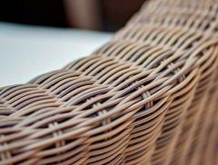 Фото №6 Кресло Римини в современном стиле из искусственного ротанга