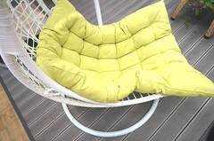 Фото №4 Подвесное кресло ВИШИ из искусственного ротанга
