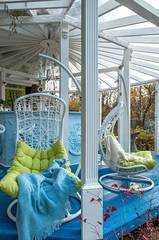 Фото №8 Подвесное кресло ВИШИ из искусственного ротанга