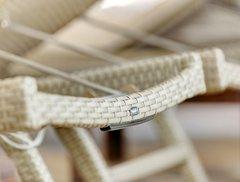 Фото №6 Шезлонг КАПРИ из искусственного ротанга