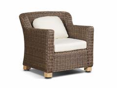 Фото №2 кресло Либрари из искусственного ротанга