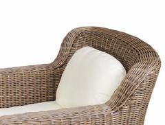Фото №3 кресло Либрари из искусственного ротанга