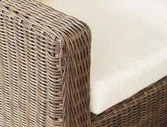 Фото №4 кресло Либрари из искусственного ротанга