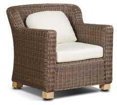 фото кресло Либрари из искусственного ротанга