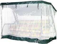 фото Москитная сетка на молнии для качелей Варадеро, Торнадо, Родео, Орбита и др