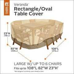 Фото №3 Чехол для комплекта мебели (стол + стулья)