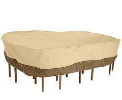 фото Чехол для комплекта мебели (стол + стулья)