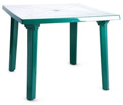 фото Стол пластиковый квадратный ЛЮКС 90 х 90 см
