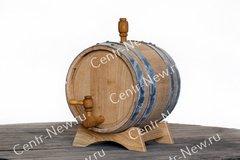 Фото №2 Дубовая бочка 5 литров (Кавказский дуб)