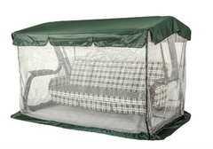 Фото №2 Тент крыша + москитная сетка для садовых качелей