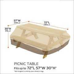 Фото №3 Чехол на стол с лавочками
