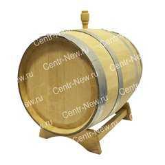 Фото №2 Дубовая бочка 25 литров без крана (Кавказский дуб)