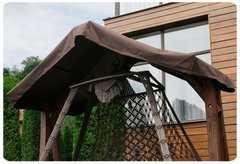 Фото №5 Каркас с крышей КАРАВЕЛЛА для качелей СЕАРА