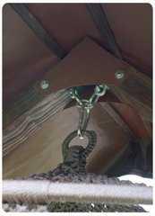 Фото №6 Каркас с крышей КАРАВЕЛЛА для качелей СЕАРА