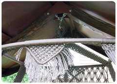 Фото №7 Каркас с крышей КАРАВЕЛЛА для качелей СЕАРА