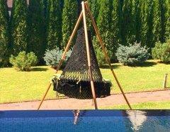 фото Каркас МАЙЯ (дерево) для подвесных кресел GARTAGENA, ARUBA, комплект МАЙЯ SET