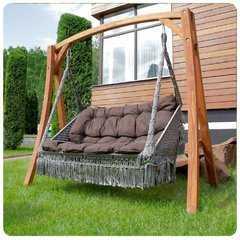 Фото №2 Деревянный каркас VILLA для подвесного кресла FORTALEZA и качелей VILLA