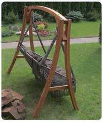 Фото №4 Деревянный каркас VILLA для подвесного кресла FORTALEZA и качелей VILLA