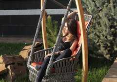Фото №5 Деревянный каркас ФОРК для подвесного кресла качелей ИНКА