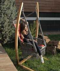 Фото №6 Деревянный каркас ФОРК для подвесного кресла качелей ИНКА