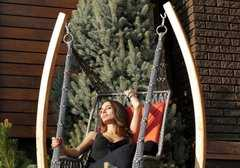 Фото №8 Деревянный каркас ФОРК для подвесного кресла качелей ИНКА