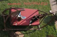Фото №3 Деревянный каркас для подвесных качелей МАРРАКЕШ