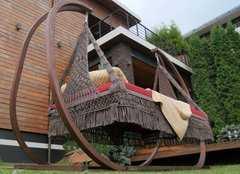 Фото №6 Деревянный каркас для подвесных качелей МАРРАКЕШ