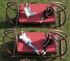Фото №9 Деревянный каркас для подвесных качелей МАРРАКЕШ