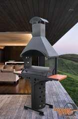 Фото №2 Барбекю с крышей и столешницами МБ-5