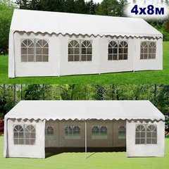 фото Садовый шатер 4x8м AFM-1027W