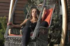 Фото №6 Подвесное кресло качели ИНКА в комплекте с подушкой