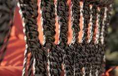Фото №7 Подвесное кресло качели ИНКА в комплекте с подушкой