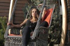 фото Подвесное кресло качели ИНКА в комплекте с подушкой