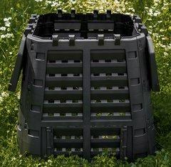 фото Компостер пластиковый GardenDreams 420 л (2 люка)