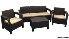 Фото №2 Комплект мебели для отдыха  Yalta Terrace Set Max