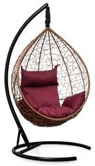 фото Подвесное кресло-кокон SEVILLA горячий шоколад + каркас