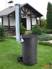 Фото №2 Утилизатор садового мусора УСМ-1