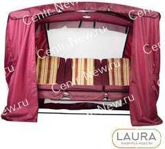 фото Тент-шатер для садовых качелей
