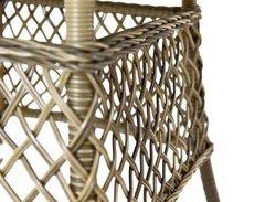 Фото №2 Стол обеденный Равенна из искусственного ротанга